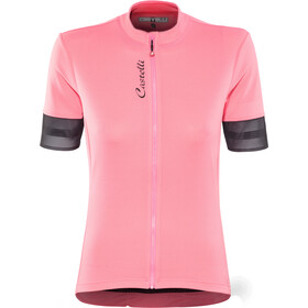 Castelli Anima 2 Maillot FZ Mujer, pink/light black